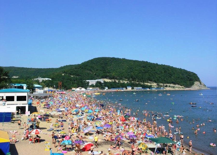 Пляжи курорта Бжид и бухты Инал - - портал