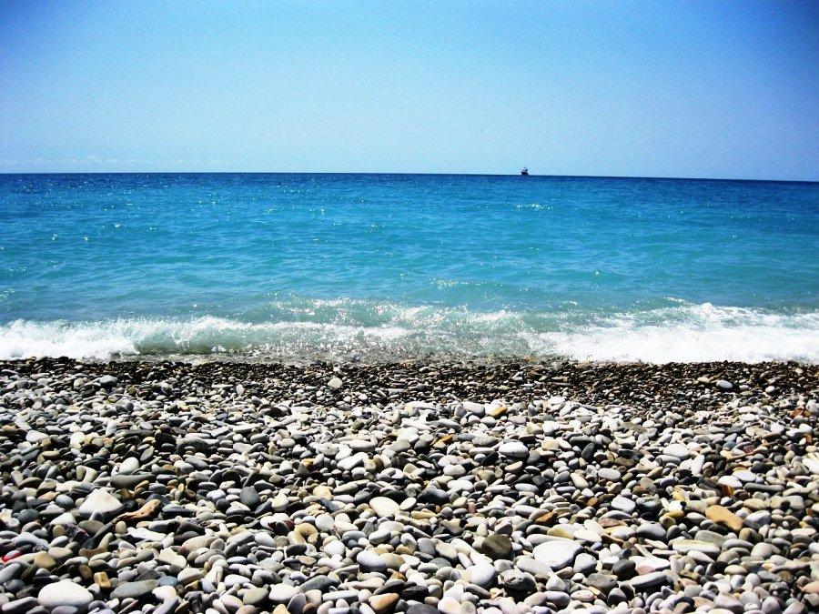 Пляжи курортного посёлка
