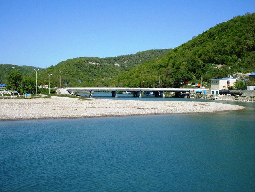 лермонтово фото поселка и пляжа